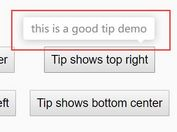 Easy Lightweight Tooltip Popup Plugin For jQuery - tip.js