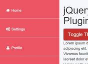 Easy Off-canvas Push Navigation Plugin For jQuery - offcanvas