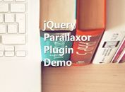 Easy Parallax Scrolling Effect with jQuery - Parallaxor