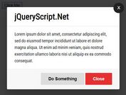Easy Responsive Modal Dialog In jQuery - simple-modal
