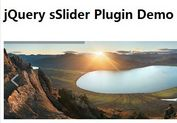 Easy Responsive jQuery Image Slider Plugin - sSlider