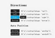 Easy Tooltip Plugin for jQuery - tooltip.js
