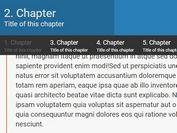 Easy jQuery Affix,Scrollspy And Reading Progress Plugin - newsAffix