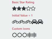Easy jQuery Rating Widget With Font Awesome Icons - MagicRating