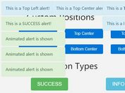 Efficient Notification Popup Plugin For jQuery - easy-alert-js