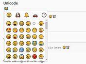 Easy Emoji Picker For Textarea - jQuery emojiarea.js