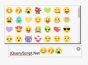 Minimal Emoji Picker For jQuery - emoji-plugin