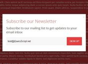 Fashion Subscribe Form Modal Box Plugin with jQuery and CSS3 - Subscribe Better