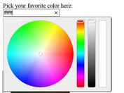 Fashion jQuery Color Picker & Selector Plugin - Wheel Color Picker