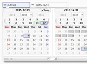 Feature-rich Date Picker Plugin with jQuery - wsCalendar