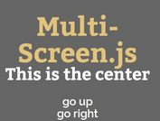Full Page Slide Transitions with jQuery Multi-Screen.js Plugin