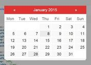 Full-featured jQuery Date Picker Plugin - RendezVous.js