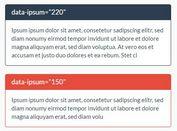 Generate Random Ipsum Lorem Snippets With jQuery - Ipsum