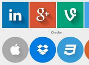 Generating Flat Style Icons with jQuery and CSS3 - Flatify