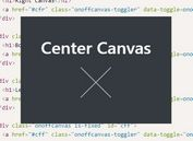 Generic Off-canvas Plugin For jQuery - OnoffCanvas