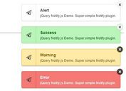 Growl Style Message Toaster Plugin For jQuery - notify
