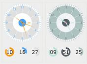 HTML5 Analog / Digital Clock Plugin With jQuery - Clock.js
