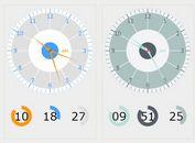 HTML5 Analog / Digital Clock Plugin With jQuery - Clock.js