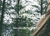 Horizontal/Vertical Parallax Scrolling Effects In jQuery - paroller.js