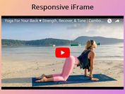 Make Iframe Responsive While Preserving Aspect Ratio