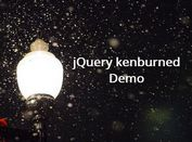 Creating Image Ken Burns Effect With jQuery And CSS3 - kenburned