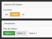 Create Inline Checkbox & Radio Buttons In Bootstrap - TWS Toggle Buttons
