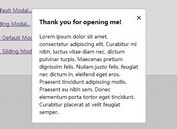 Light & Animated jQuery Modal Window Plugin - JUI Modals