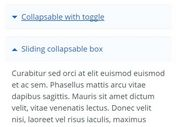 Lightweight jQuery Collapse Control Plugin - Collapsable