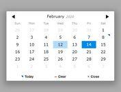 Lightweight jQuery Date Input Picker - pickadate