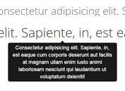 Lightweight jQuery Text Truncation & Tooltip Plugin - EllipsisTooltip