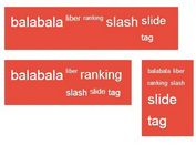 Lightweight jQuery Tag Cloud Plugin - Hotag