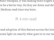 Medium Inspired jQuery Read Time Estimating Plugin - readtime