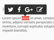 Medium-style Floating Text-highlight Menu With jQuery And CSS3