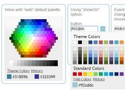 Microsoft Office Style Color Picker Plugin - evol.colorpicker