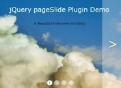 Minimal Horizontal Fullpage Slider Plugin With jQuery - pageSlide