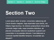 Minimal Smooth Scroll To Plugin with jQuery - Arctic Scroll