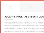 Top 50 Best Tabs jQuery Plugins Of 2017