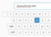 Minimal Virtual Keyboard Plugin For jQuery - SoftKey
