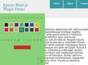 Minimal jQuery Based Site Theme / Color Scheme Switcher - Blast.js