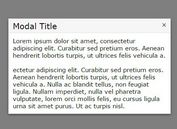 Minimal jQuery Modal Window with CSS3 Animations - Moedal