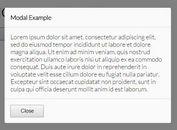 Minimalist Content Modal Plugin For jQuery - Modalon