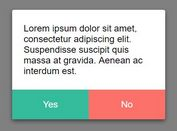Minimalist Flat Confirmation Dialog Plugin With jQuery - confirm.js