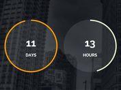 Modern Circular jQuery Countdown Timer Plugin - Final Countdown