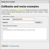 Modern Modal Dialogs - ModalBox