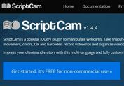 Multi-Language and Fully Customizable jQuery Webcam Plugin - ScriptCam