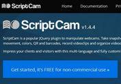 Multi-Language and Fully Customizable jQuery Webcam Plugin - ScriptCam