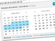 Multi-language jQuery Date Range Picker Plugin