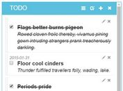 Multifunctional Todo List Plugin With jQuery - LobiList