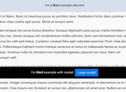 jQuery Plugin For Multiple Sticky Elements - stickyElement.js