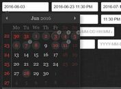 Multipurpose jQuery Date/Time/Range Picker Plugin - tinyDatePicker